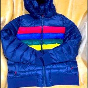 Men's winter bubble jacket